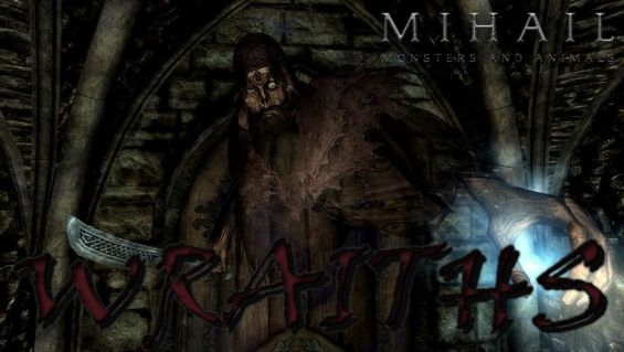 Wraiths- Mihail Monsters and Animals (SSE) (mihail immersive
