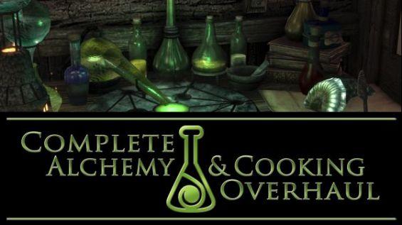 Complete Alchemy and Cooking Overhaul 日本語化対応 錬金術