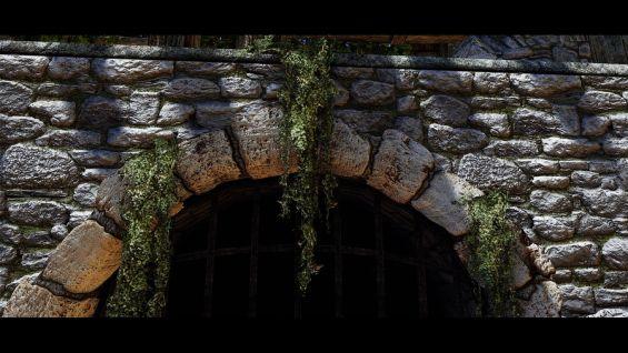 Hanging Moss HD モデル・テクスチャ - Skyrim Special Edition