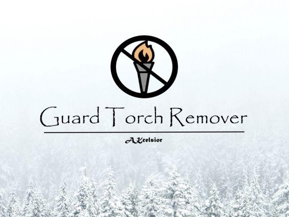 Guard Torch Remover - Reduced Light Flickering バグフィックス